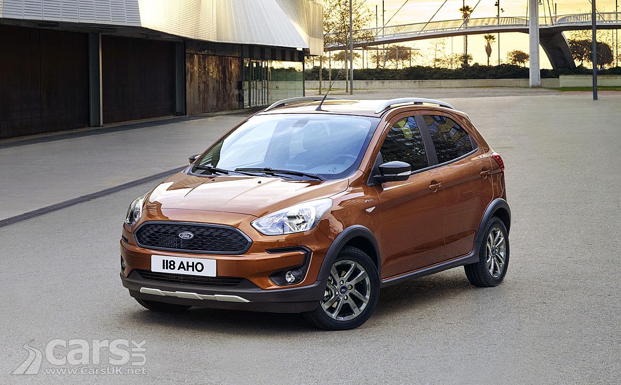 ford ka active crossover heads up titivated ka range cars uk. Black Bedroom Furniture Sets. Home Design Ideas