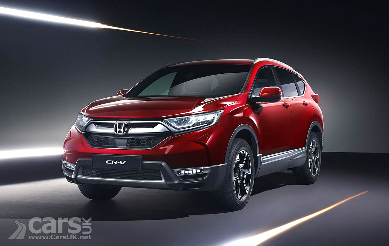 2018 honda cr v revealed in uk spec gets hybrid option. Black Bedroom Furniture Sets. Home Design Ideas