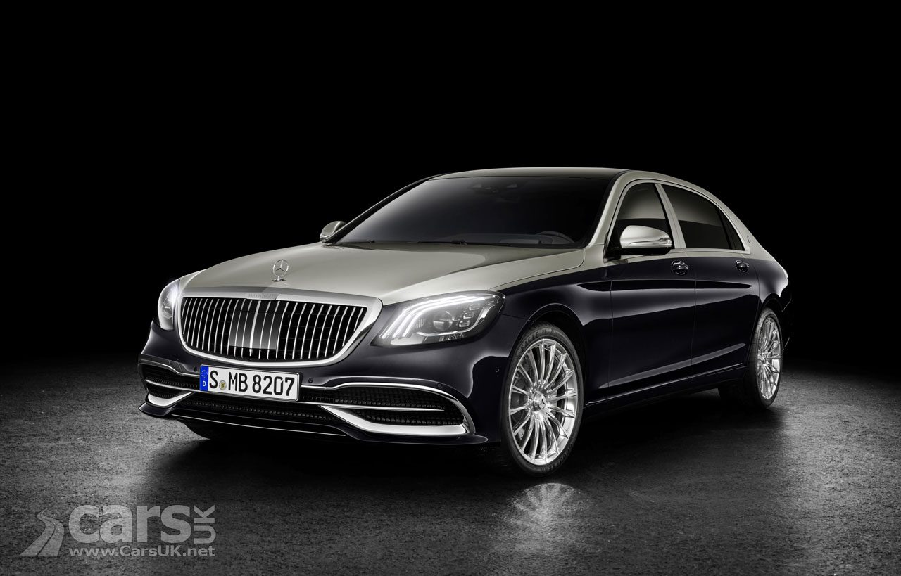 2018 Mercedes-Maybach S-Class gets more 'Maybach' with a facelift