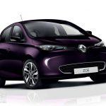 2018 Renault Zoe EV – it's PURPLE and more powerful