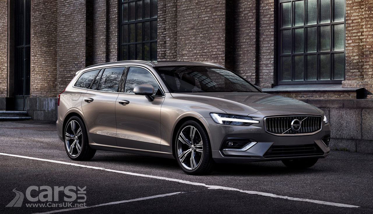 2018 volvo v60 revealed looks like a smaller v90 with new xc60 influence cars uk. Black Bedroom Furniture Sets. Home Design Ideas