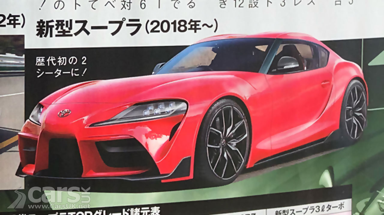 New 2019 Toyota Supra Leaks Ahead Of Geneva Debut Cars Uk