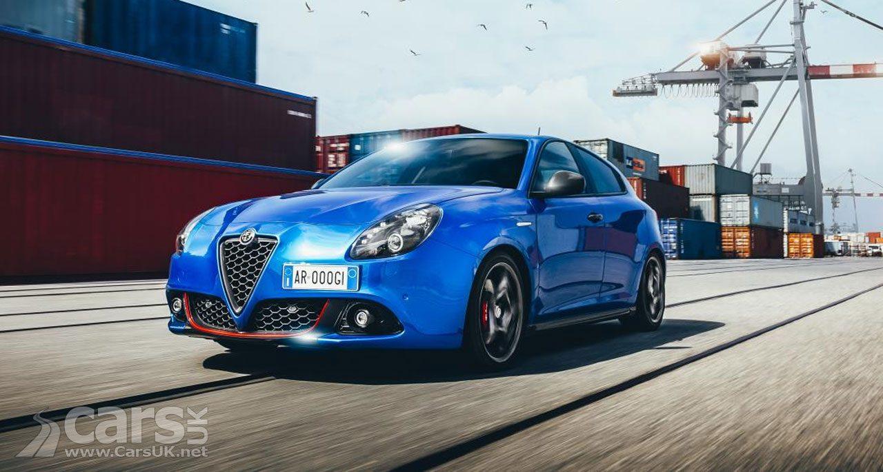 Alfa Romeo Giulietta Sport - now on sale at Alfa's UK dealers
