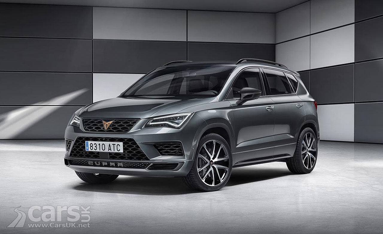 CUPRA Ateca is the first model from the new Cupra Performance Brand