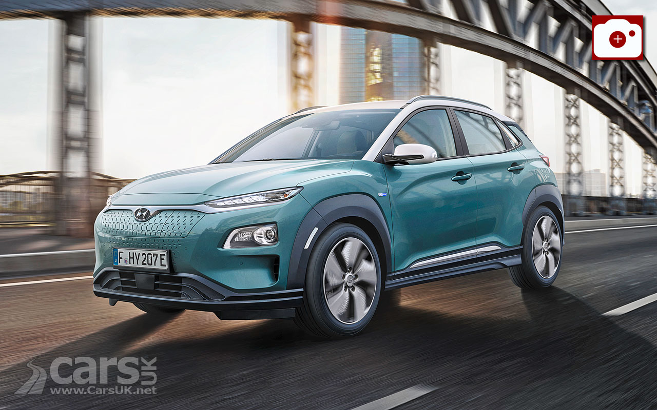 hyundai kona electric revealed and it looks like an ev game changer cars uk. Black Bedroom Furniture Sets. Home Design Ideas