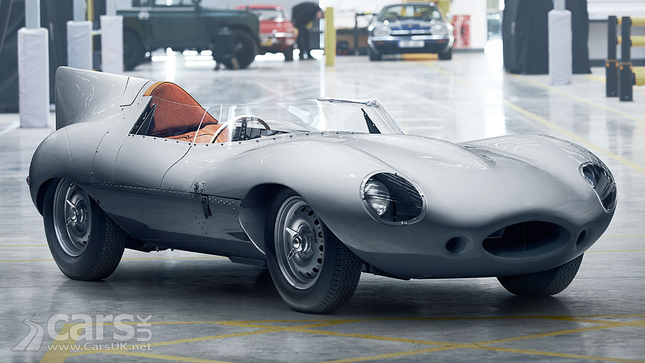jaguar d type back in production after 60 years video cars uk. Black Bedroom Furniture Sets. Home Design Ideas