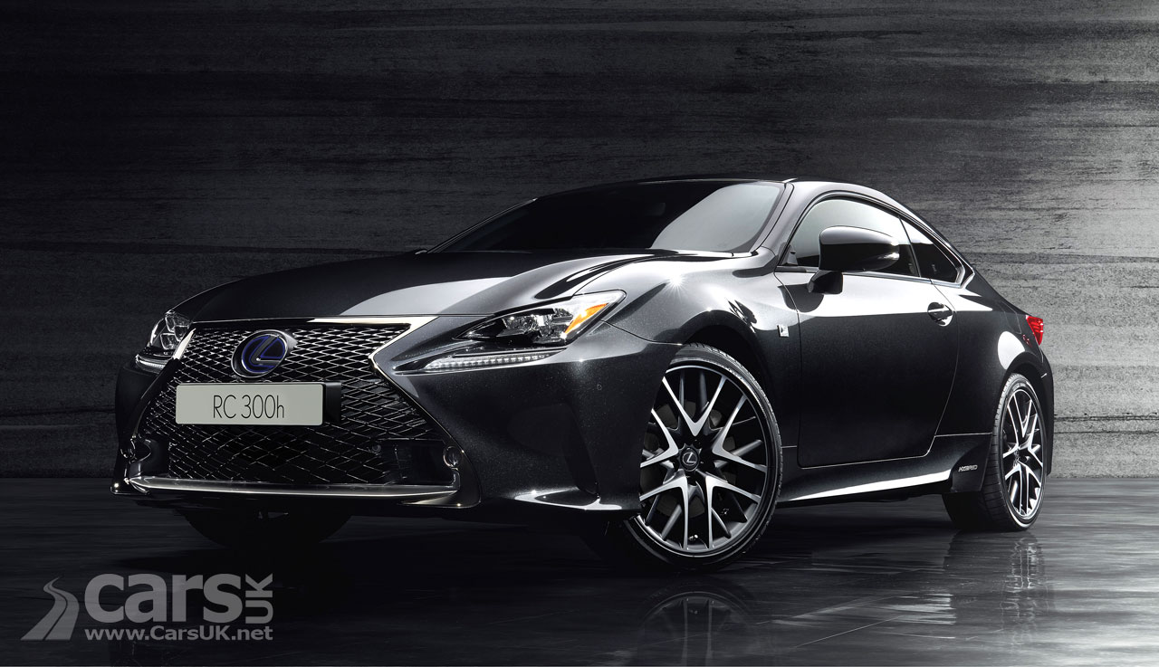 lexus rc 300h f sport black edition inspired by sumi ink cars uk. Black Bedroom Furniture Sets. Home Design Ideas