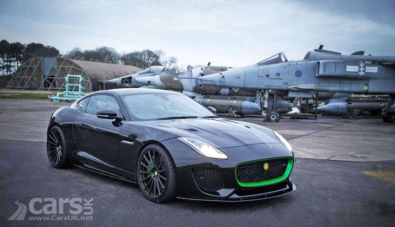 Lister's 666bhp Jaguar F-Type 'Thunder' is FLYING off the shelf