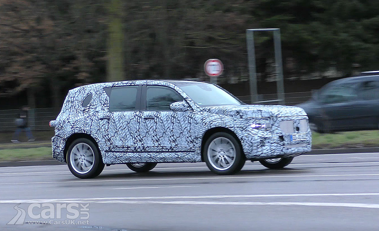 New Mercedes GLB - a 'Baby G-Class' - spied on Video