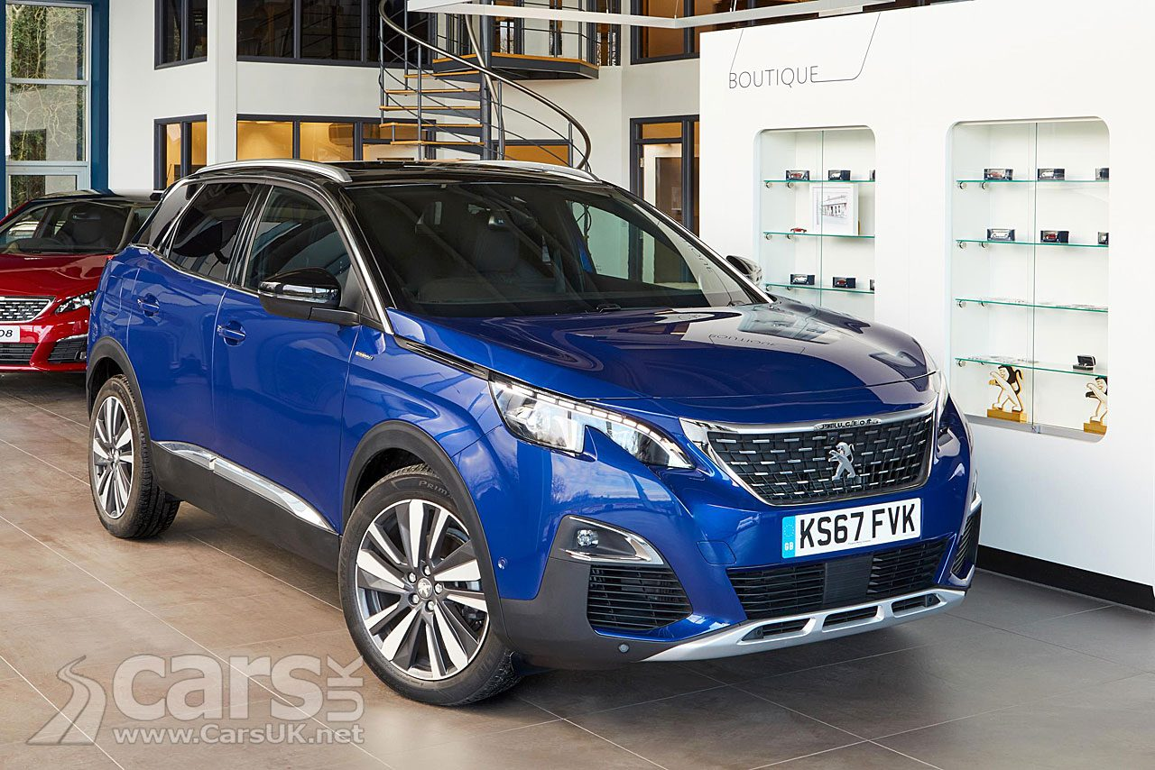 Peugeot 3008 GT Line Premium - with added goodies from the GT