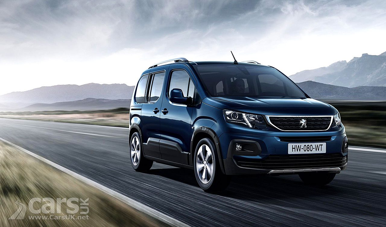 The Peugeot Rifter MPV arrives to join its PSA siblings