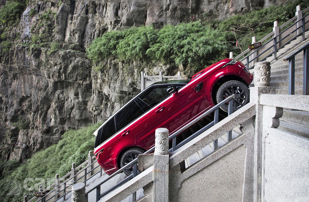 Land Rover PROVE the Range Rover Sport PHEV with a climb to Heaven's Gate