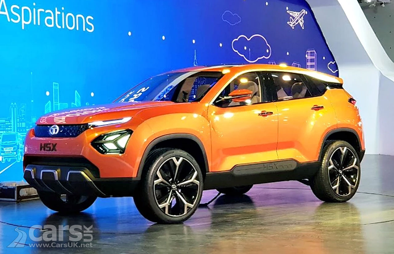 Tata H5X SUV (pictured) is a chip off the LAND ROVER block