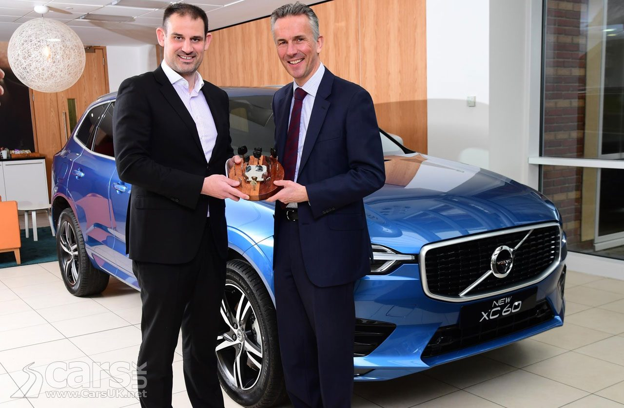 Volvo XC60 is the 2018 UK Car of the Year