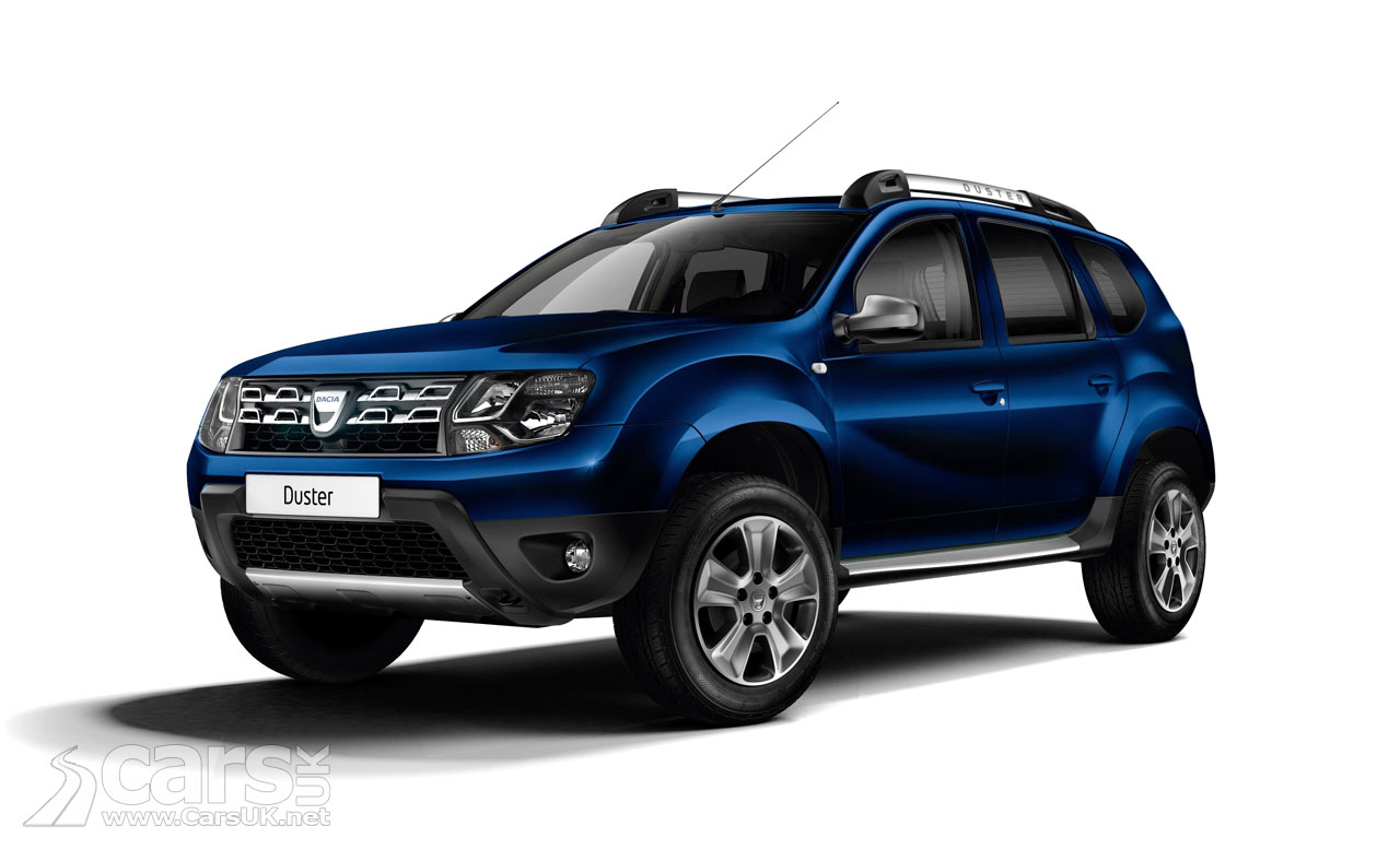 Dacia Duster Air and Nav+trim levels go on sale