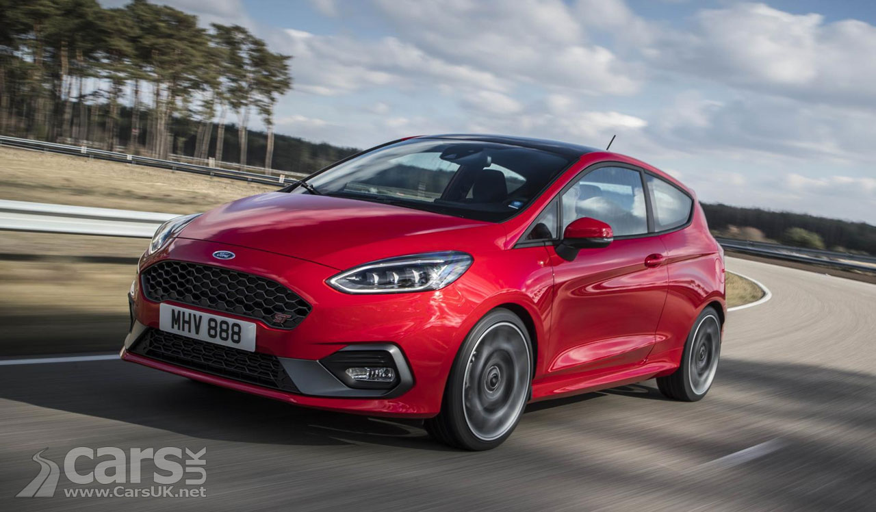 new 2018 ford fiesta st limited slip diff launch control and more cars uk. Black Bedroom Furniture Sets. Home Design Ideas