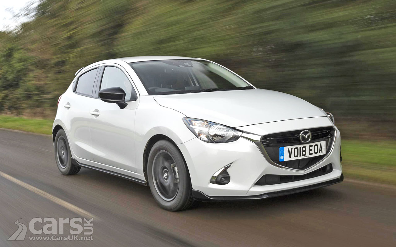 mazda 2 gets 2018 updates and there 39 s a mazda2 sport black limited edition too cars uk. Black Bedroom Furniture Sets. Home Design Ideas