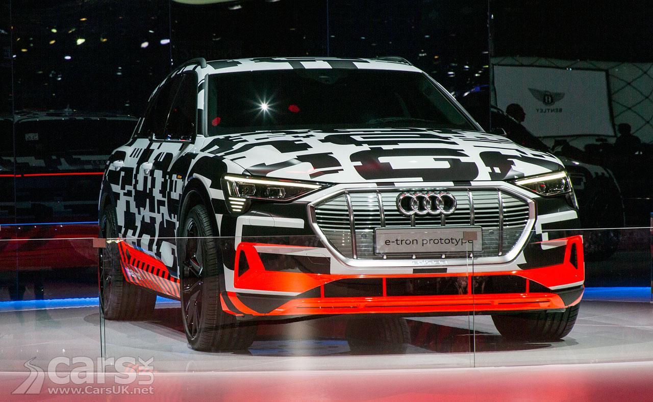 Audi e-tron Quattro Prototype at Geneva