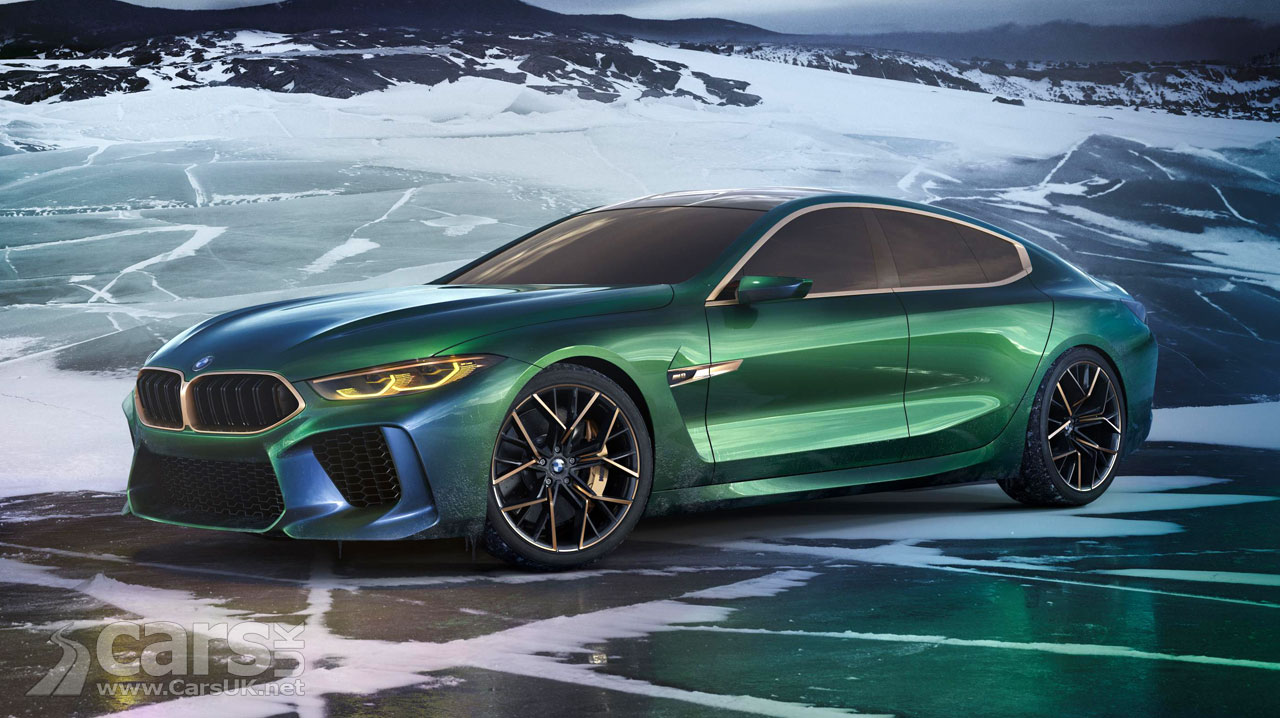bmw m8 gran coupe concept previews porsche panamera and amg gt rival cars uk. Black Bedroom Furniture Sets. Home Design Ideas