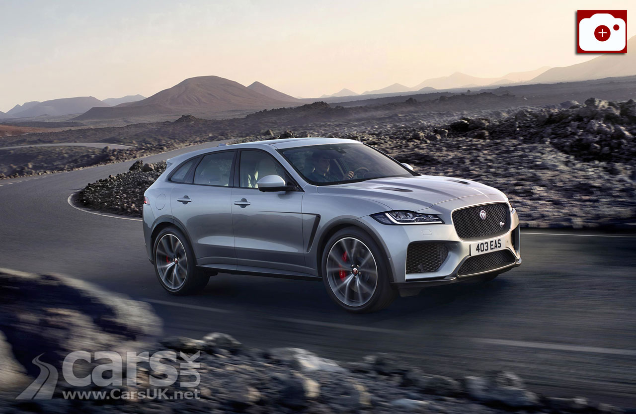 Jaguar F-Pace SVR arrives to take on the Porsche Macan Turbo