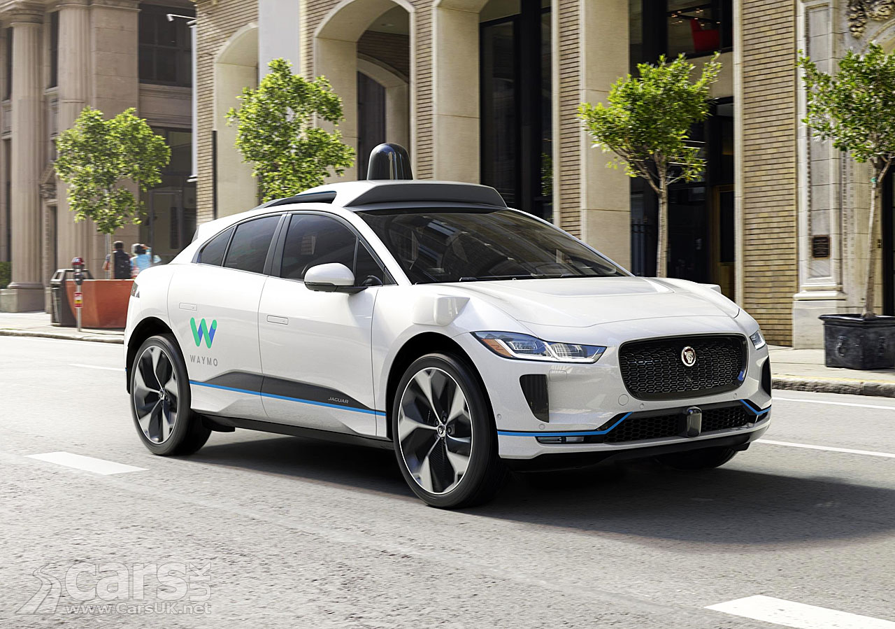Jaguar I Pace Goes Self Driving With Waymo Cars Uk
