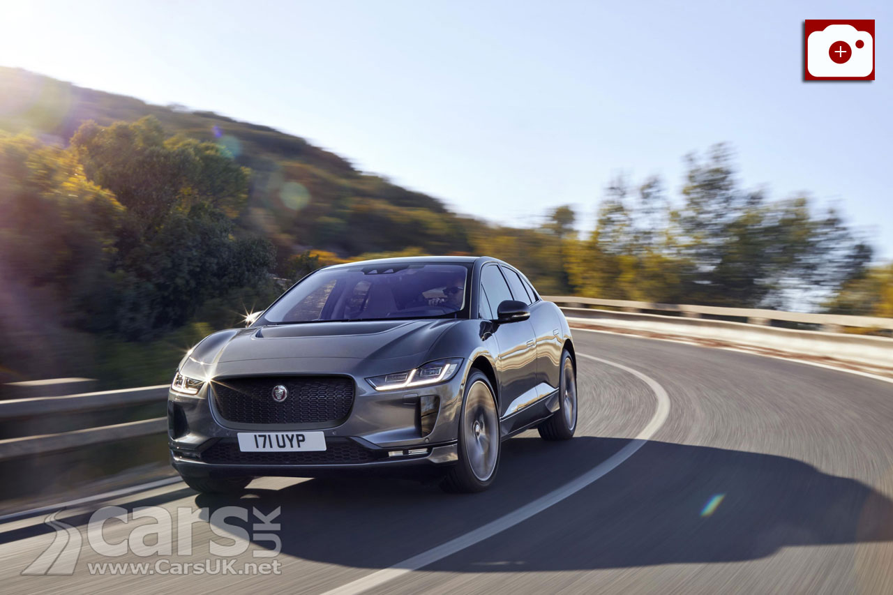 Jaguar i-Pace Electric SUV is OFFICIALLY revealed