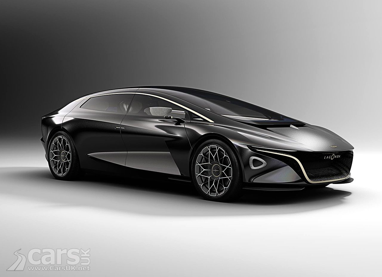 Lagonda Vision Concept - the electric future fro Lagonda