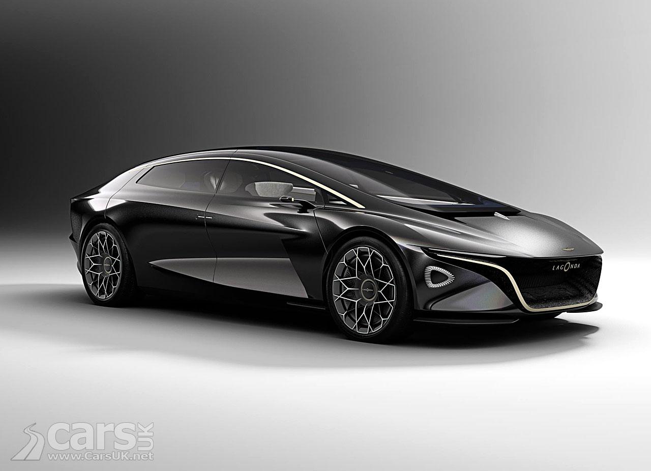 Lagonda Vision Concept - the electric future for Lagonda