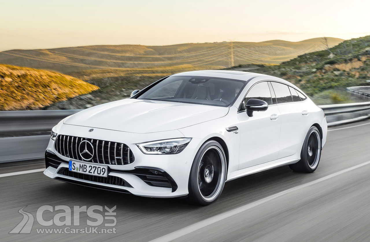 mercedes amg gt 4 door revealed as an amg replacement for the cls 63 cars uk. Black Bedroom Furniture Sets. Home Design Ideas