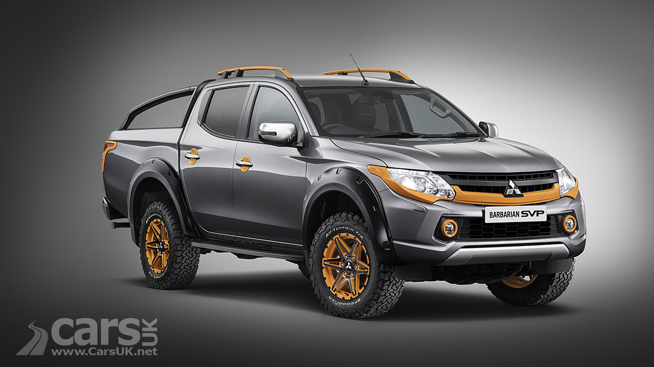 mitsubishi l200 barbarian svp ii with 39 tonka 39 factor dialled up to 11 cars uk. Black Bedroom Furniture Sets. Home Design Ideas