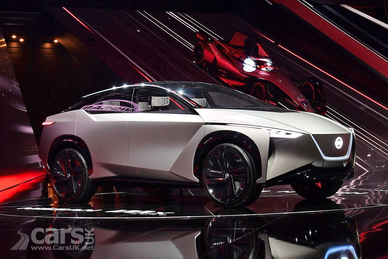 Nissan IMx Concept (pictured) WILL become the Nissan LEAF SUV