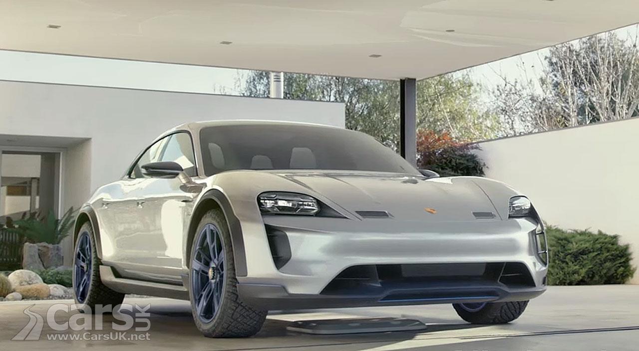 Porsche Mission E Cross Turismo Electric 'Allroad' on Video