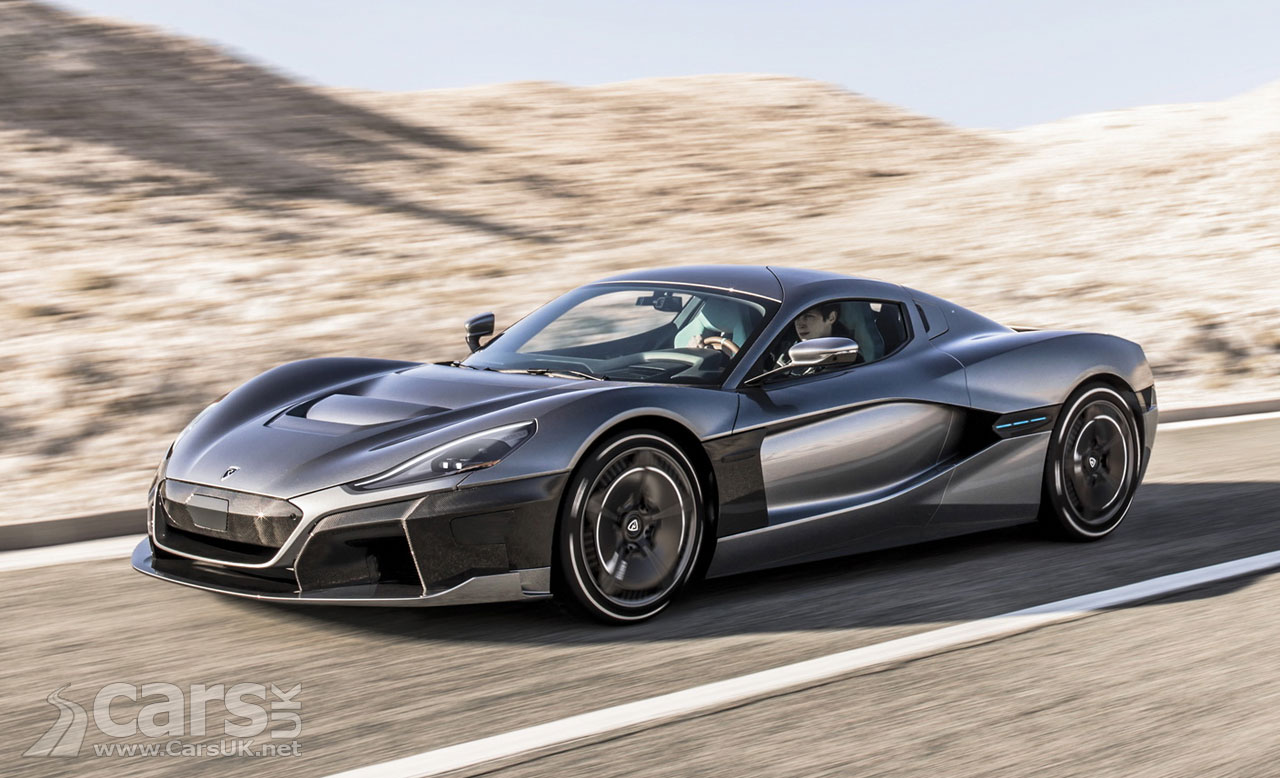 Rimac C Two Electric Supercar Comes With 1 887bhp