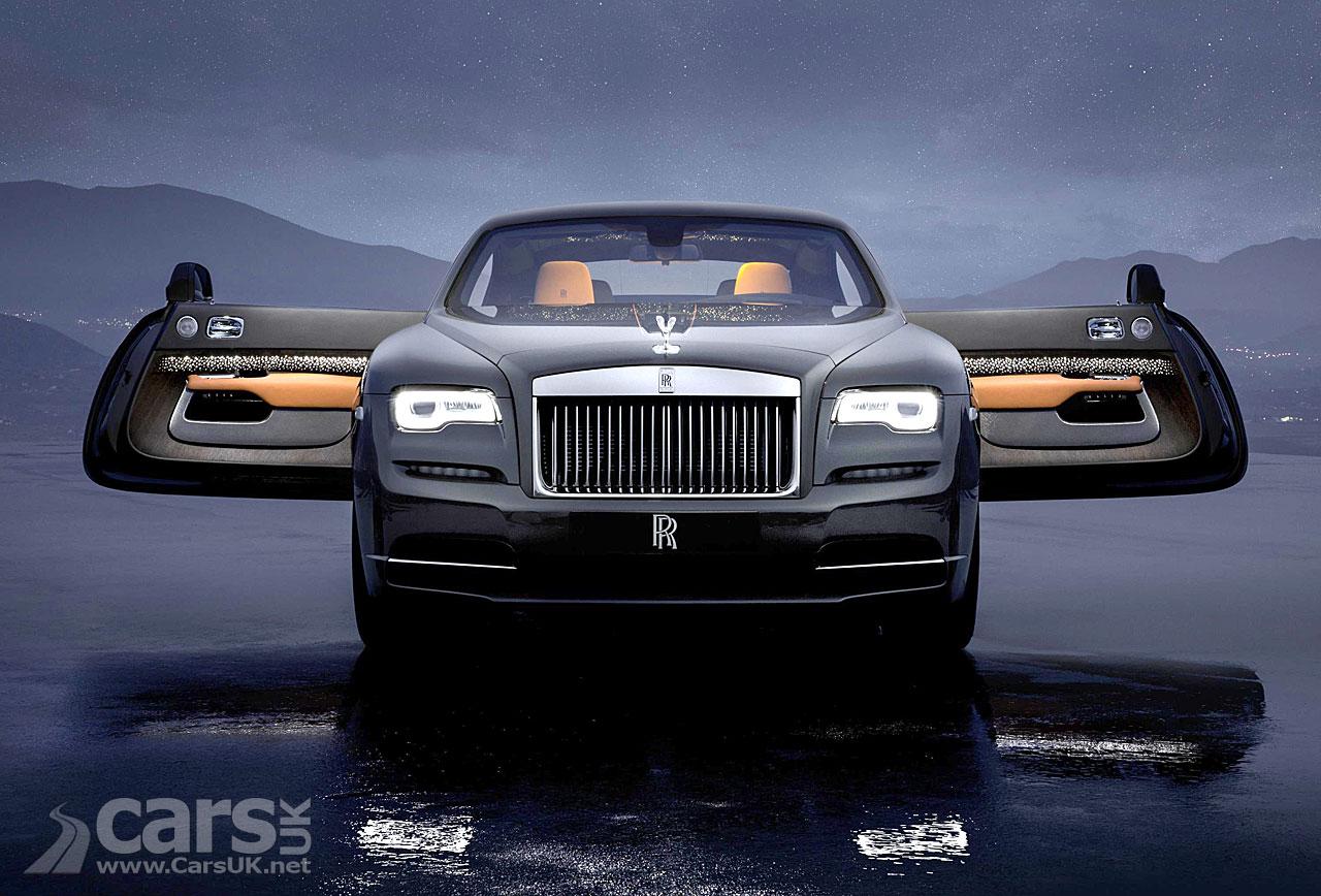 The Wraith Car >> Rolls-Royce Wraith Luminary Collection - Shooting Stars ...
