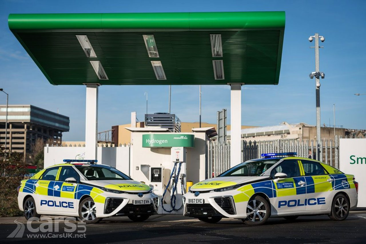 Toyota Mirai FCEV starts life as a London POLICE car