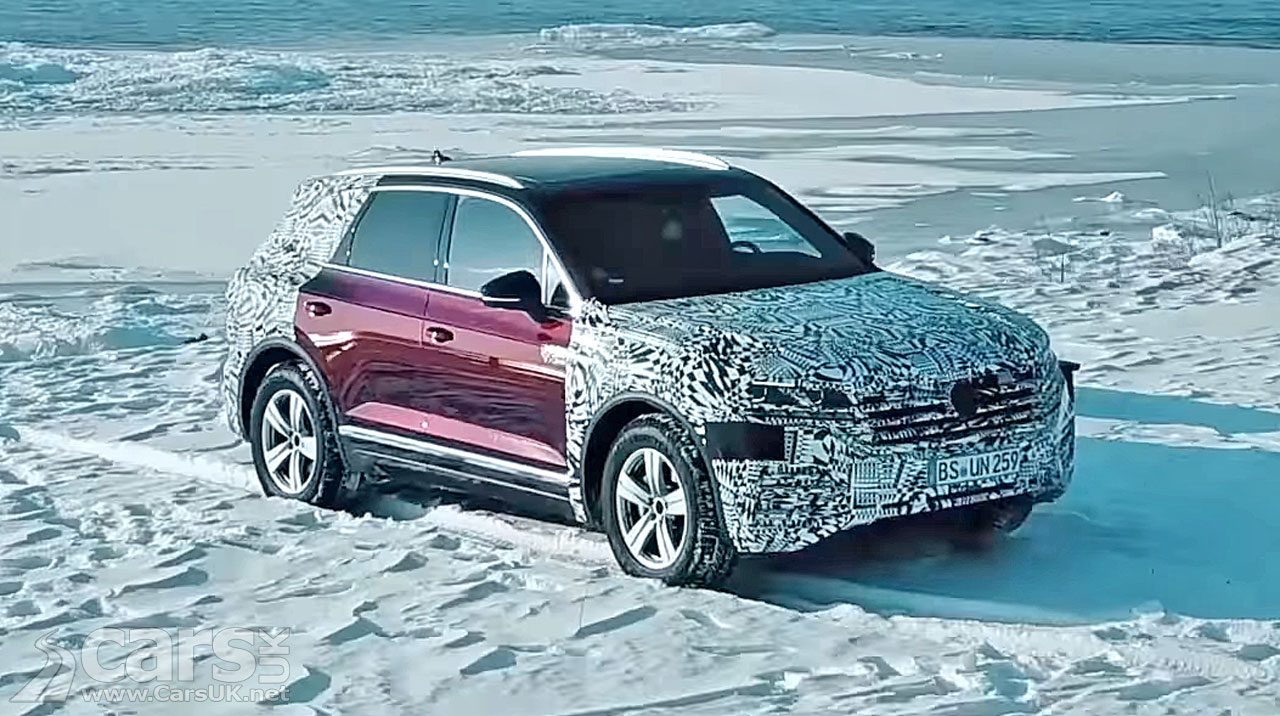 New Volkswagen Touareg DRIVING from Europe to its debut in Beijing