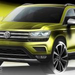 VW Volks-SUV teased as sub-Tiguan SUV – but NOT for UK and Europe