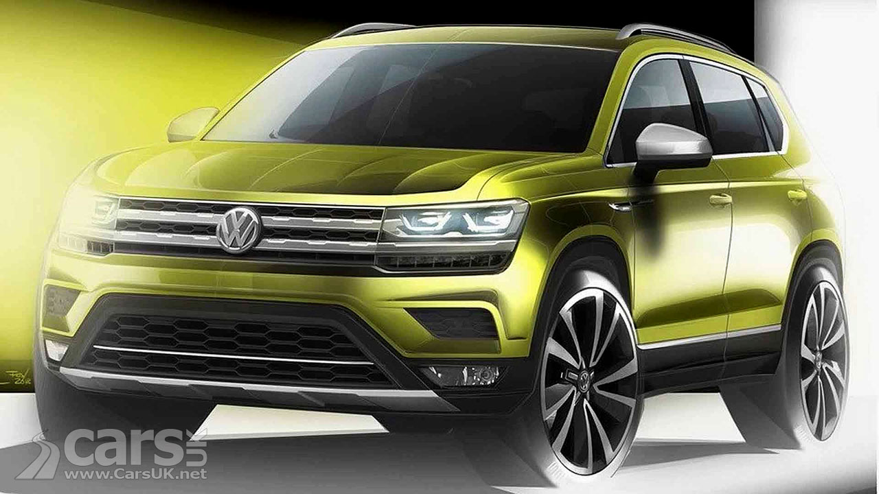 VW Volks-SUV teased as sub-Tiguan SUV - but NOT for UK and ...