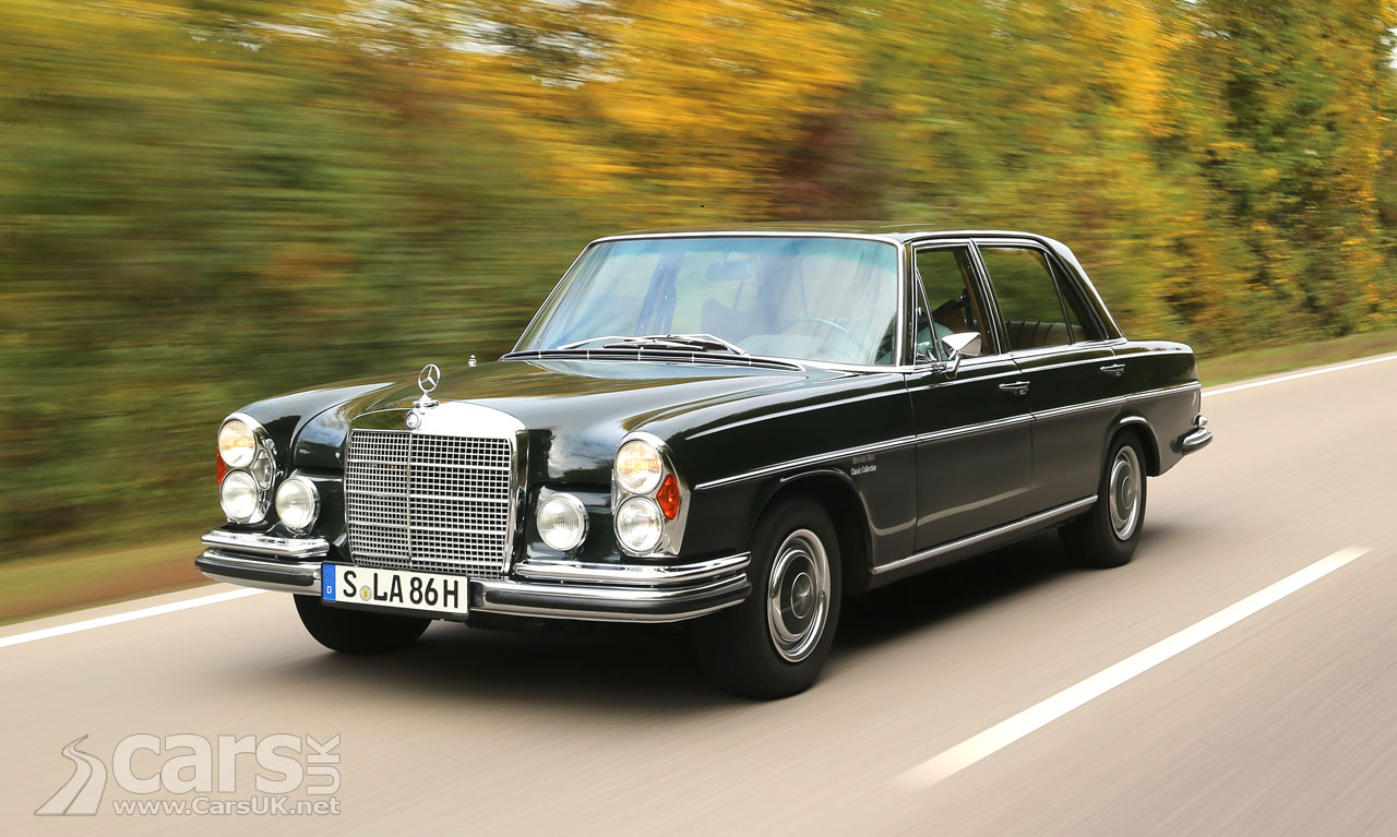 mercedes benz 300 sel 6 3 mercedes 39 first 39 performance saloon 39 is 50 years old cars uk. Black Bedroom Furniture Sets. Home Design Ideas
