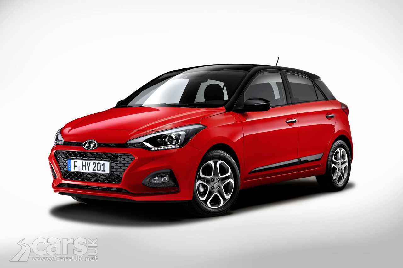 hyundai i20 gets a facelift for 2018 and drops the diesel cars uk. Black Bedroom Furniture Sets. Home Design Ideas