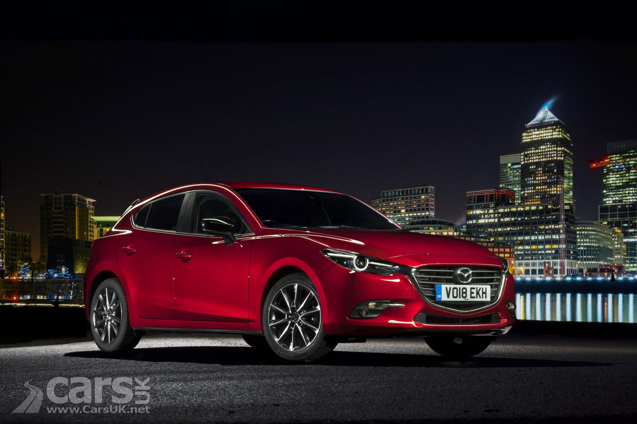 mazda3 sport black joins the mazda2 sport black in mazda 39 s uk range cars uk. Black Bedroom Furniture Sets. Home Design Ideas