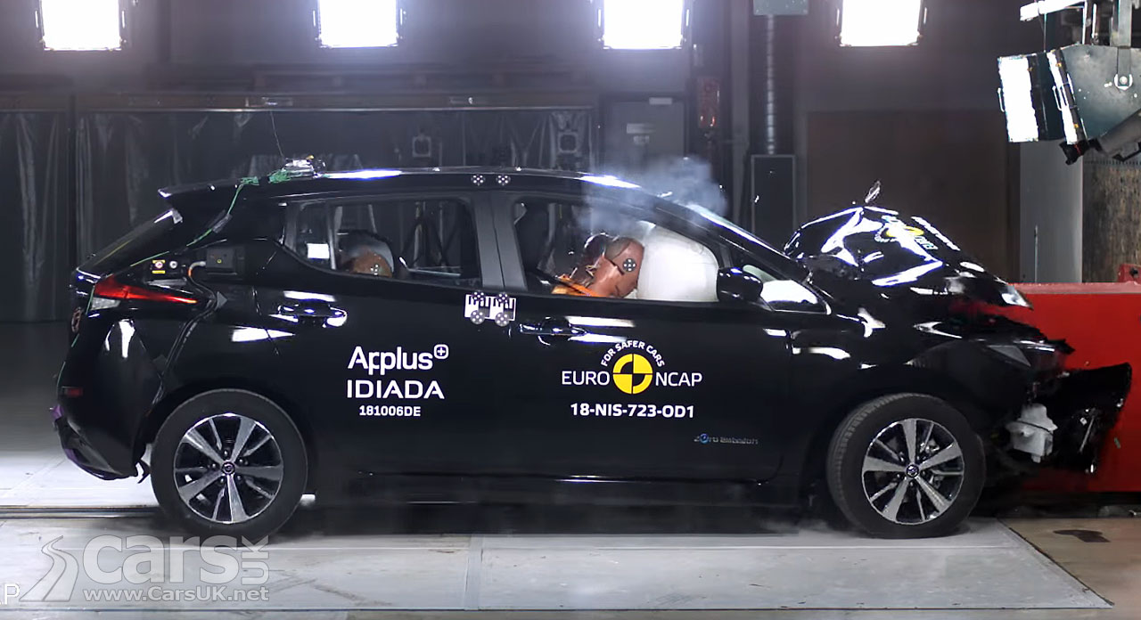The New Nissan Leaf Gets A Euro Ncap 5 Star Rating