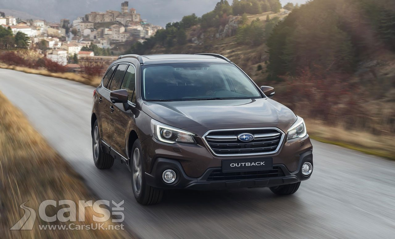 2018 Subaru Outback gets a bit of a facelift