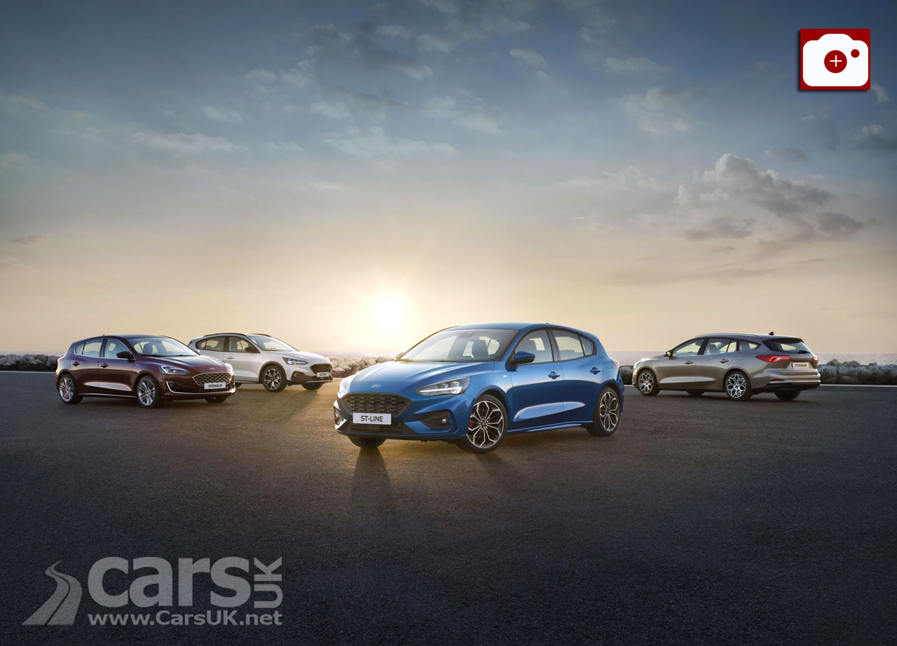 New Ford Focus arrives as Hatch, Estate and Active