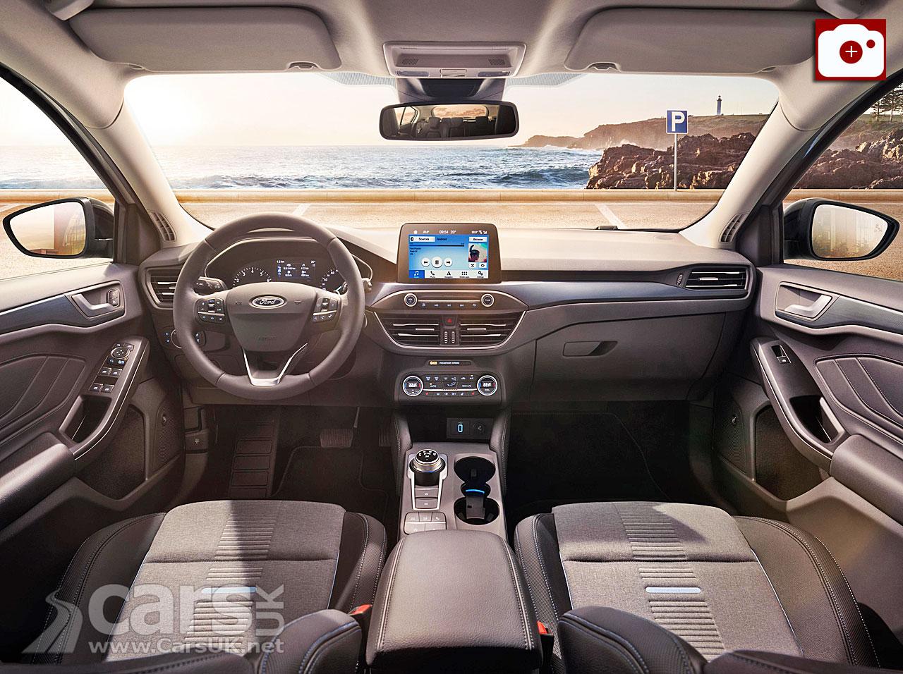 2018 Ford Focus Interior