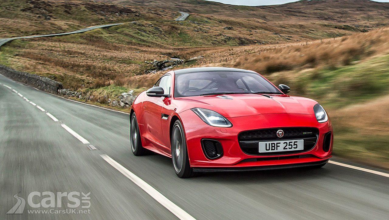 Jaguar modestly updates the F-Type