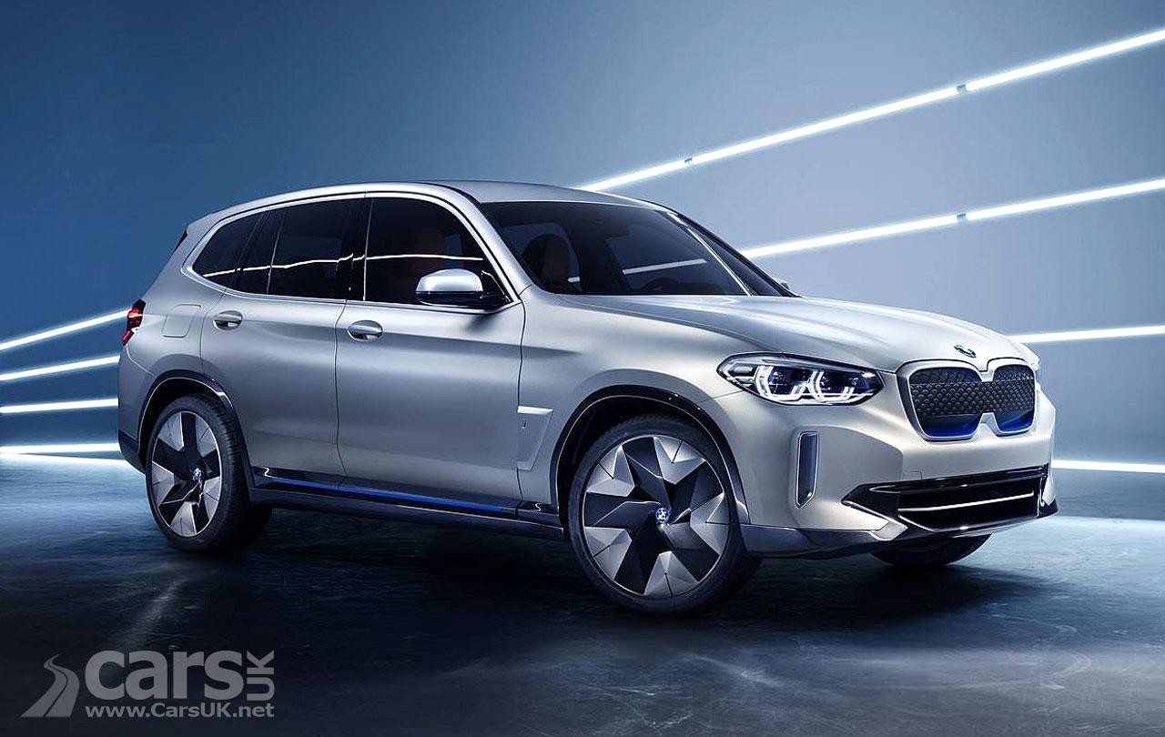 BMW Concept iX3 previews a new electric X3