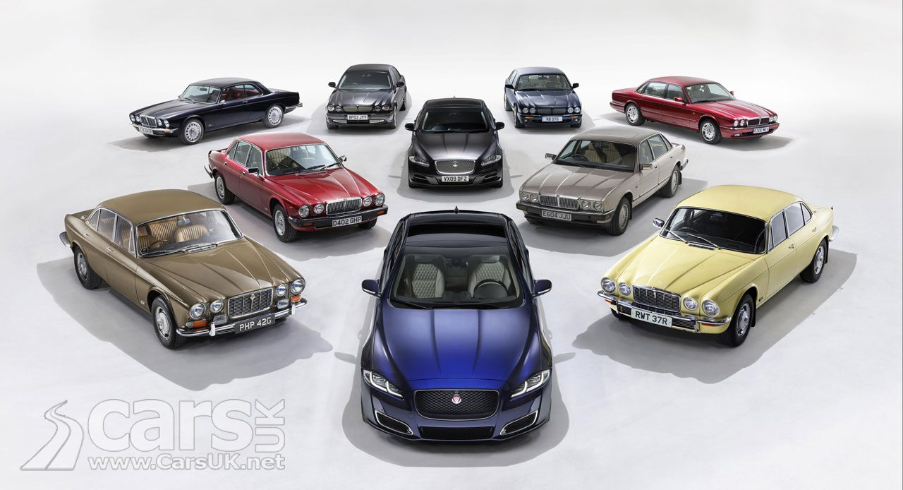 Jaguar XJ50 celebrates 50 years of the XJ