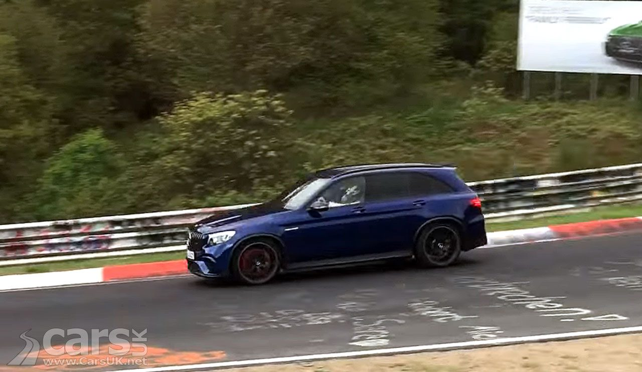 Is this the Mercedes-AMG GLC 63 S on a Nurburgring RECORD run?