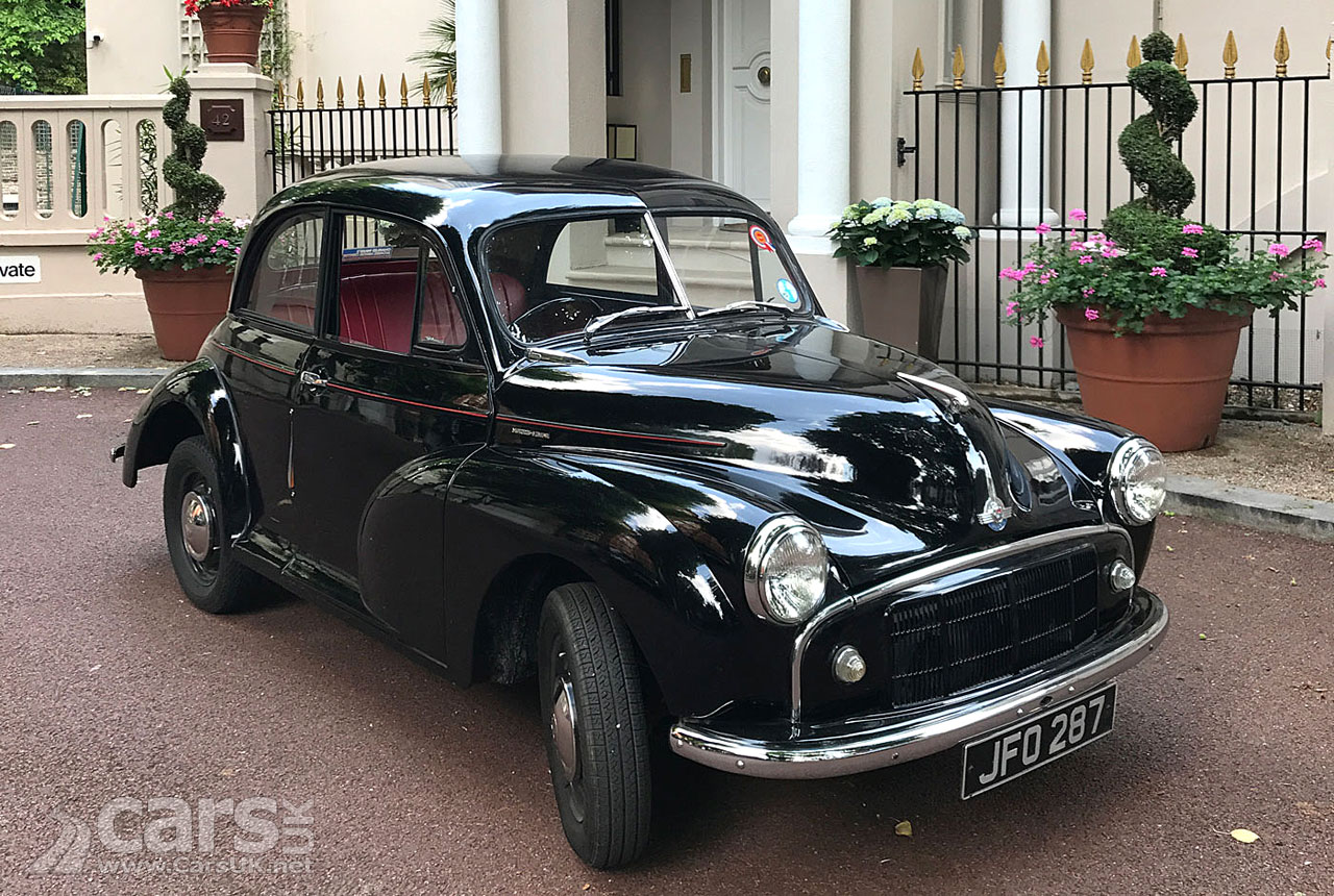 Classic Morris Minor ELECTRIC from London Electric Cars